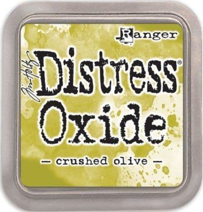 Crushed Olive Distress Oxide Pad